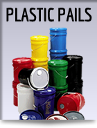 plastic open head pails