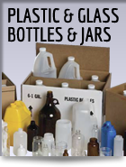 Plastic and Glass Bottles and Jars